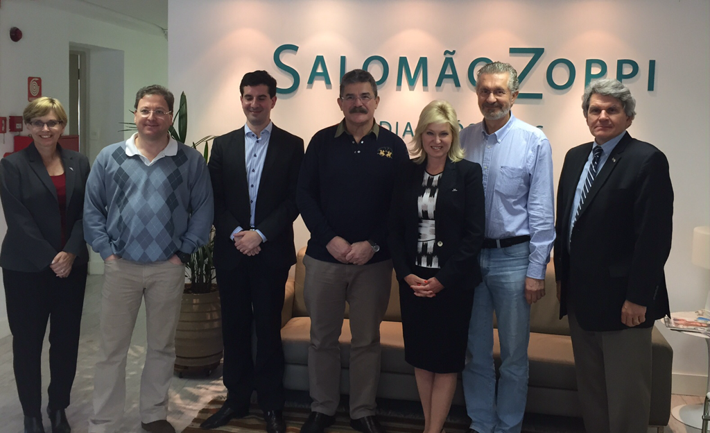 With Eduardo, Ricardo, Luis, and P.S., of Salomao&Zoppi along with members of the GTMA investment mission