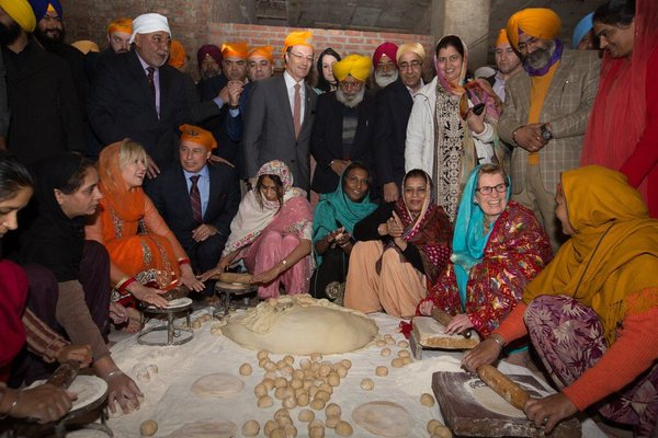 Chapati at Golden Temple