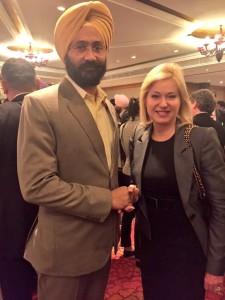 With Parminder Singh Dhindsa, Finance & Planning Minister