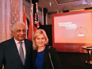 With Ajit Gulabchand of HCC Ltd.